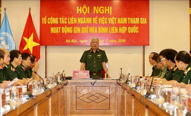 Le Vietnam etudie l'envoi de forces civiles dans les missions de maintien de la paix de l'ONU hinh anh 1
