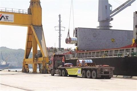 Le port de Nghi Son favorise l'import-export grace a sa nouvelle ligne de fret hinh anh 1