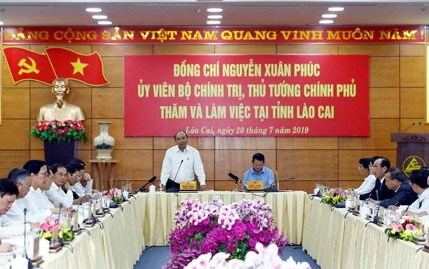 Lao Cai appelee a figurer dans la liste de 15 provinces developpees du pays hinh anh 1
