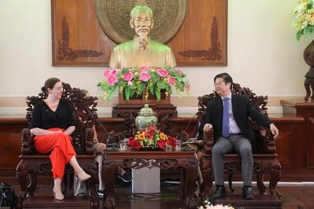 Can Tho et l'Australie s'oriente vers la cooperation dans plusieurs domaines hinh anh 1
