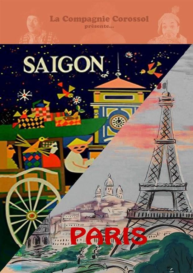 Presentation du spectacle «Saigon/Paris: Aller simple» a Paris hinh anh 1