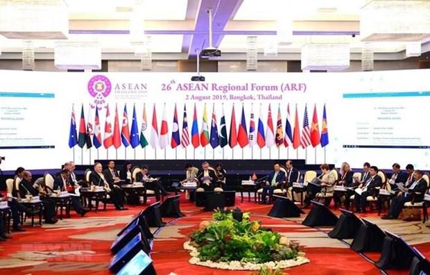 Le Vietnam participe au 26eme Forum regional de l'ASEAN hinh anh 1
