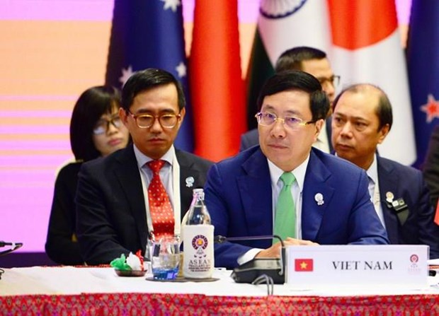 Le Vietnam suggere une connectivite plus forte dans le Sommet de l'Asie de l'Est hinh anh 1