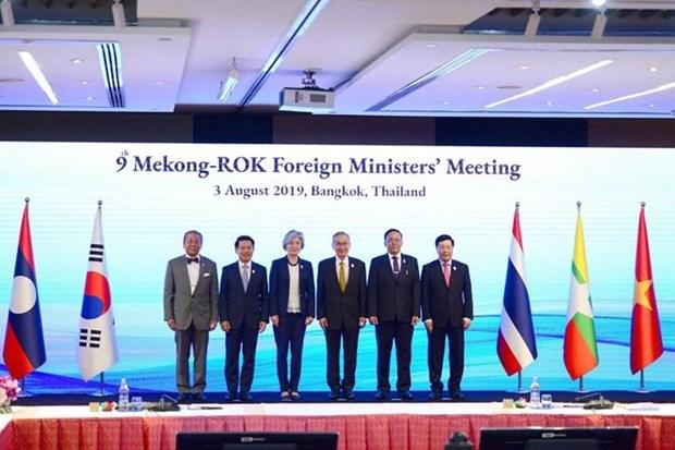 Les ministres des AE du Mekong et de la R. de Coree se reunissent a Bangkok hinh anh 1