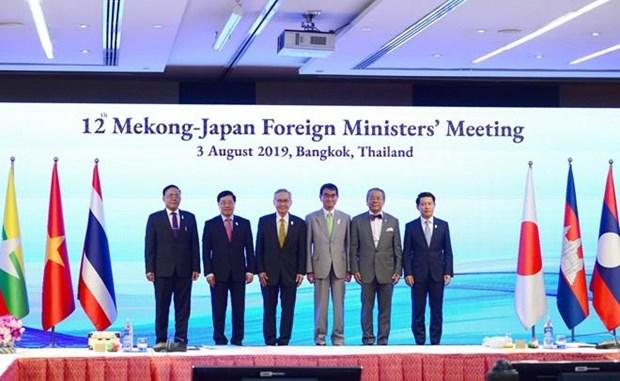 Le Vietnam affirme son engagement en faveur de la cooperation entre le Mekong et le Japon hinh anh 1