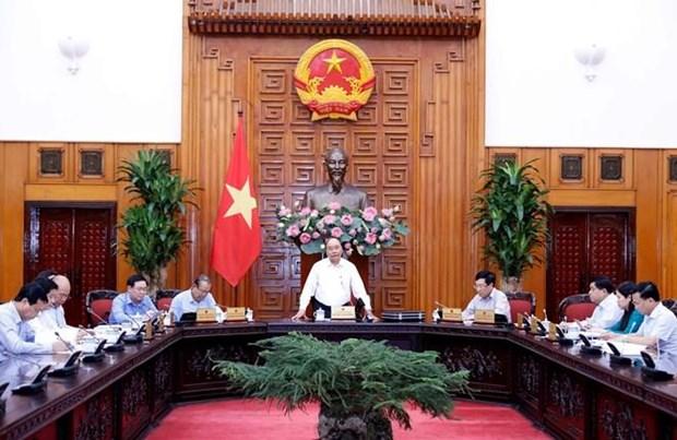 Le PM appelle a donner la priorite a l'investissement dans les projets cles hinh anh 1