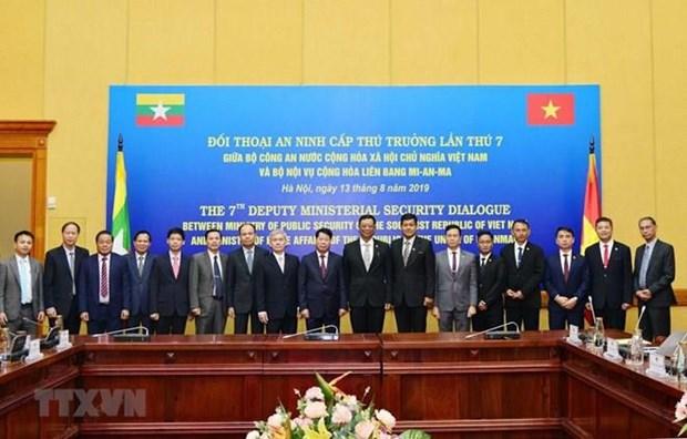 Le Vietnam et le Myanmar promeuvent leur cooperation en matiere de securite hinh anh 1