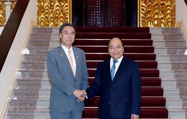 Le Premier ministre recoit le gouverneur de la prefecture japonaise de Nagano hinh anh 1