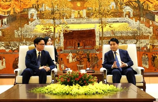 Hanoi continuera a contribuer au renforcement des relations entre le Vietnam et le Cambodge hinh anh 1