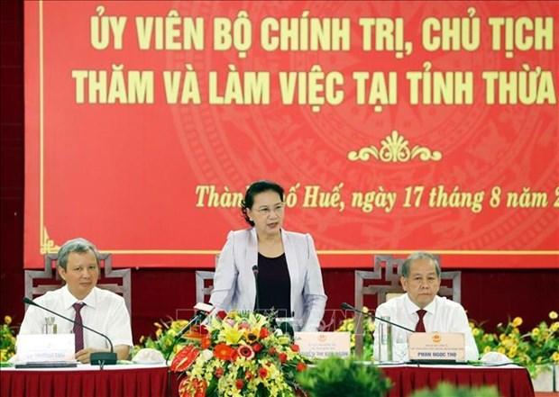 Thua Thien-Hue invitee a promouvoir le developpement vert et durable hinh anh 1