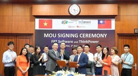 Deux produits de FPT Software commercialises a Taiwan (Chine) hinh anh 1