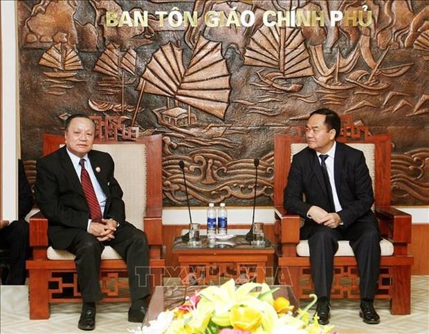 Religion : Cooperation intensifiee entre le Vietnam et le Laos hinh anh 1
