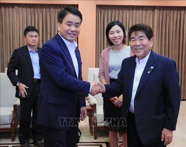 Hanoi s'engage a faciliter les activites des entreprises japonaises hinh anh 1