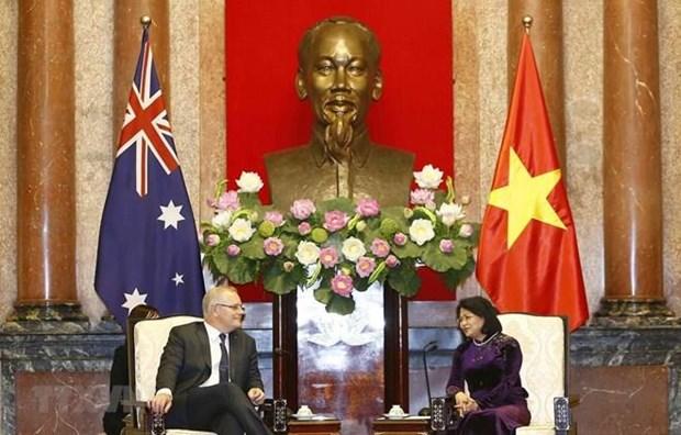 Le PM australien considere le Vietnam comme un partenaire strategique important  hinh anh 1