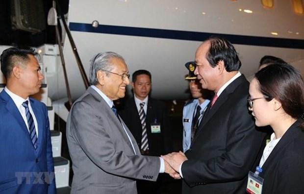 Le Premier ministre malaisien entame sa visite officielle au Vietnam hinh anh 1