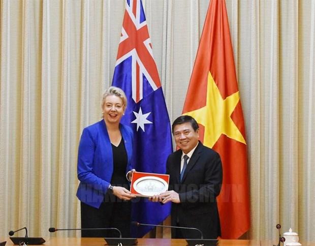 HCM-Ville et l'Australie renforcent leur cooperation dans l'agriculture de haute technologie hinh anh 1