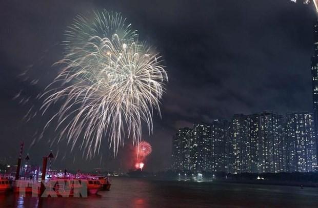 Les habitants de la megapole du Sud celebrent la Fete nationale hinh anh 1