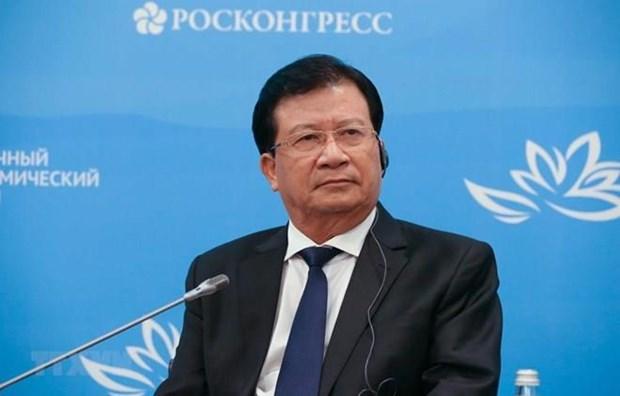 Le vice-PM Trinh Dinh Dung au 5e Forum economique oriental hinh anh 1