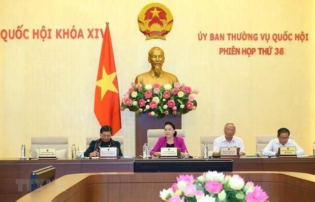 La 37e session du Comite permanent de l'AN (XIVe legislature) s'ouvrira le 9 septembre hinh anh 1