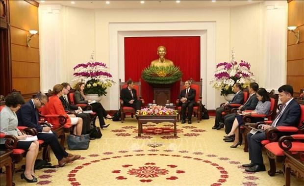 Promotion de la cooperation economique entre le Vietnam et les Etats-Unis hinh anh 1