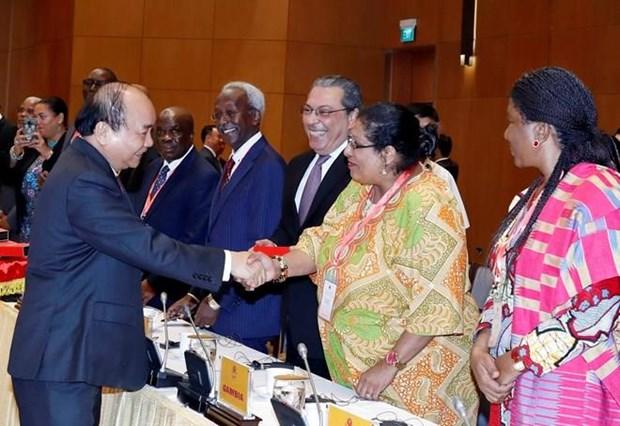 Le PM se felicite de la cooperation avec les pays du Moyen-Orient et d'Afrique hinh anh 1