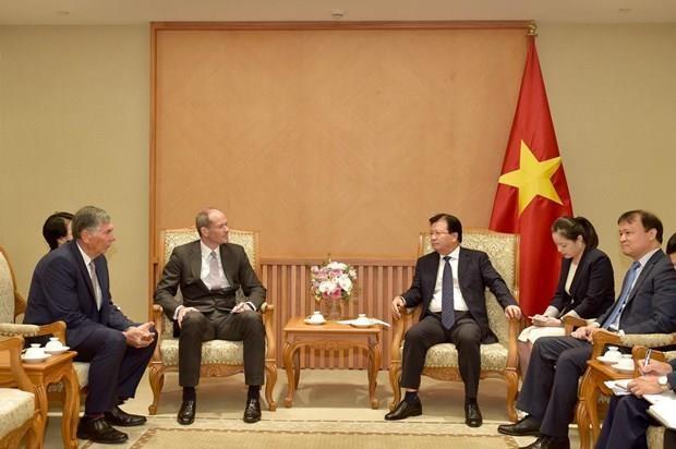 Encourager les entreprises britanniques a investir davantage au Vietnam hinh anh 1