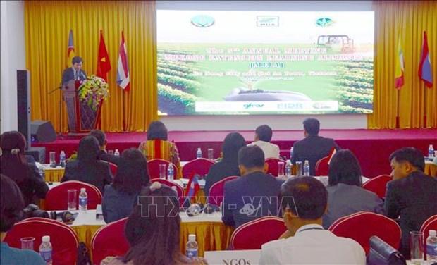 Partage des experiences sur l'encouragement agricole entre les pays de la sous-region du Mekong hinh anh 1