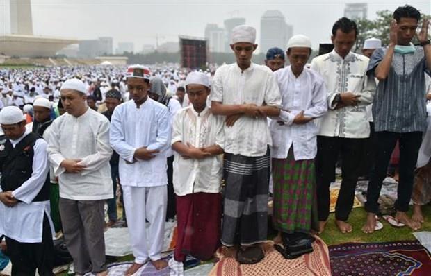 Les Indonesiens prient pour la pluie au milieu des feux de foret hinh anh 1