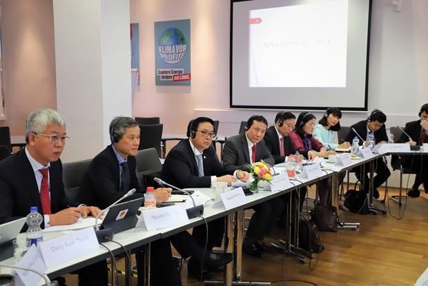 Le PCV entretient un dialogue politique avec le Parti de gauche allemand hinh anh 1