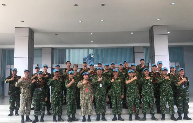 ADMM + : Le Vietnam participe aux exercices de maintien de la paix et de deminage humanitaire hinh anh 1