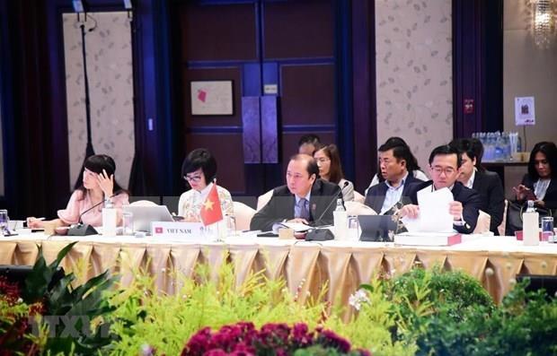Le Vietnam participe aux reunions preparatoires du 35e sommet de l'ASEAN hinh anh 1