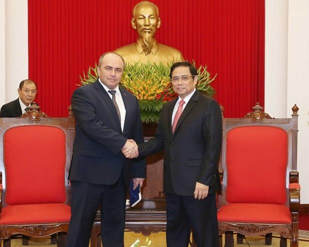 Le vice-Premier ministre bielorusse decrit le Vietnam comme un partenaire fiable hinh anh 1