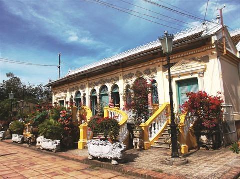 Can Tho: L'ancienne maison de Binh Thuy, destination de choix des touristes hinh anh 1