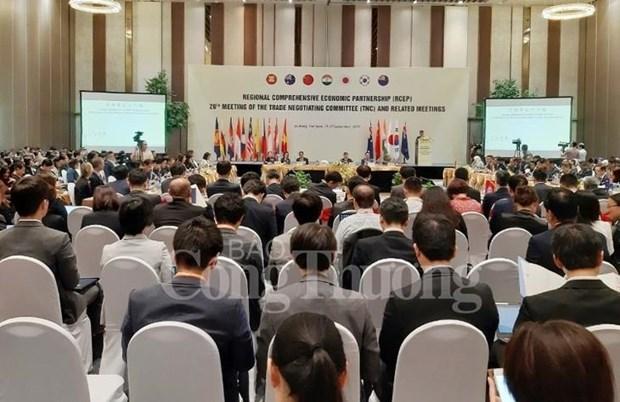 RCEP : ouverture d'un nouveau round de negociations a Da Nang hinh anh 1