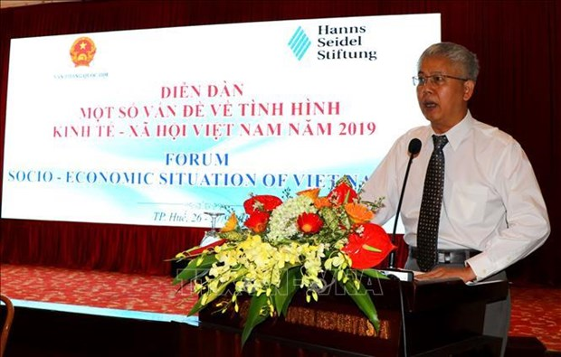 Forum sur la situation socio-economique du Vietnam en 2019 hinh anh 1