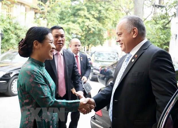 Le Vietnam et le Venezuela resserrent l'amitie et la solidarite traditionnelles hinh anh 1