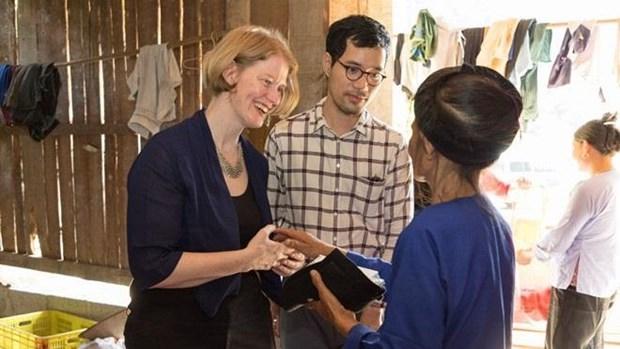 La Nouvelle-Zelande aide les foyers pauvres de Cao Bang a ameliorer leurs revenus hinh anh 1