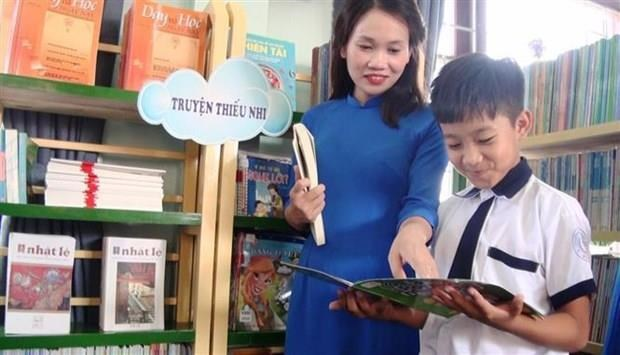 Nouvelle bibliotheque scolaire inauguree a Quang Binh hinh anh 1