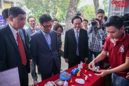 Festival national de la start-up pour les etudiants a Hanoi hinh anh 1