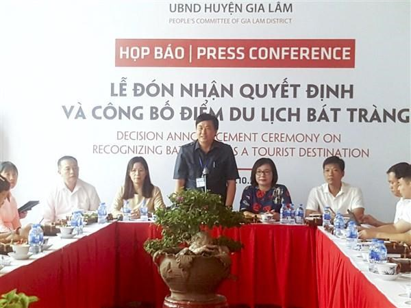 Bat Trang reconnue destination touristique hinh anh 1