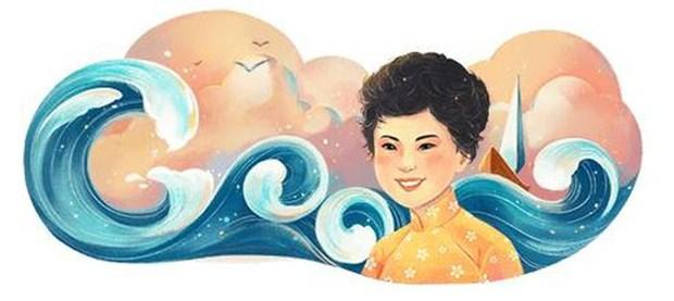 Xuan Quynh, premiere artiste vietnamienne a etre honoree par Google hinh anh 1