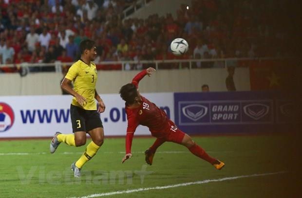 Le Vietnam bat la Malaisie 1-0 lors des eliminatoires asiatiques de la Coupe du monde 2022  hinh anh 1