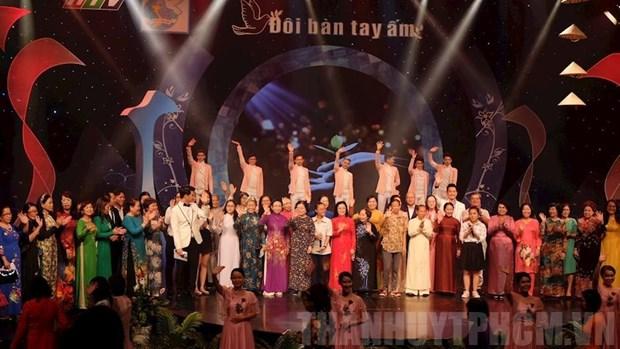 HCM-Ville: un programme artistique en faveur des femmes defavorisees hinh anh 1