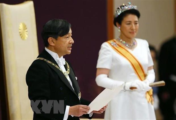 Le Vietnam felicite le Japon pour l'intronisation de l'empereur Naruhito hinh anh 1