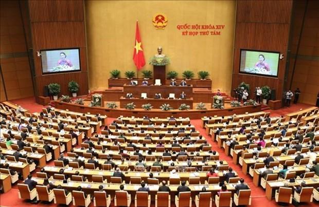 Ouverture de la 8e session de l'Assemblee nationale de la 14e legislature hinh anh 1