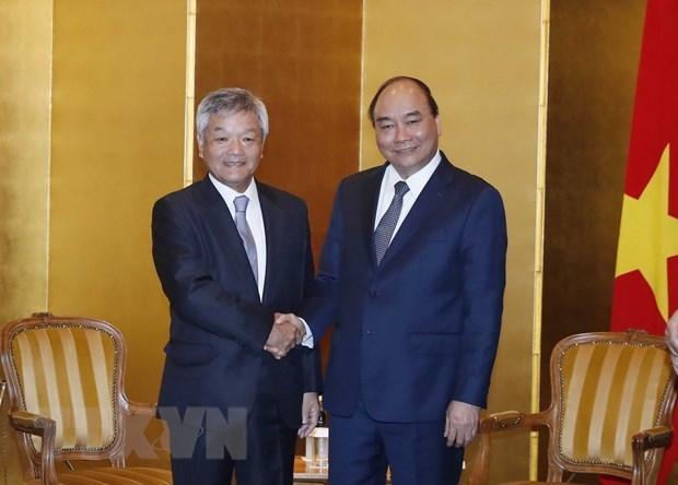 Le PM Nguyen Xuan Phuc recoit le gouverneur de la prefecture de Kanagawa hinh anh 2