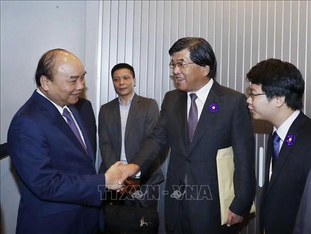 Le Premier ministre Nguyen Xuan Phuc arrive a Tokyo, au Japon hinh anh 1