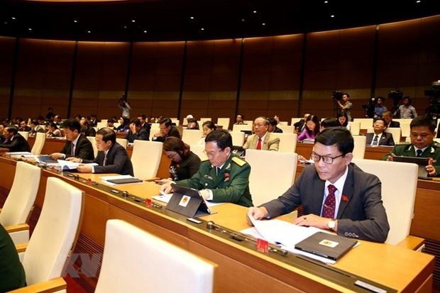 8e session de l'AN (14e legislature) : Les deputes discutent du projet de loi sur la Bourse hinh anh 1