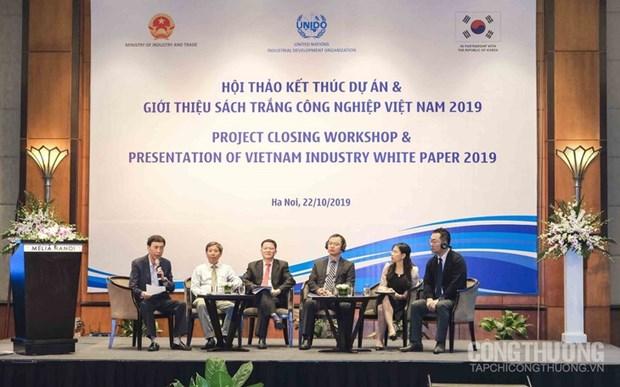 Publication du premier livre blanc sur l'industrie au Vietnam hinh anh 1
