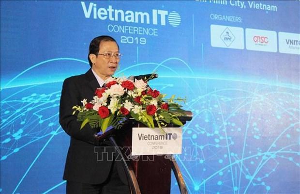 Conference sur le developpement des services des TI au Vietnam 2019 hinh anh 1